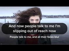 Lorde - Flicker (Kanye West Rework) Face Blur, Music Channel, People Talk, Lorde, You Videos, Kanye West, Talk To Me, Lyrics, Youtube