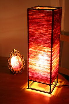 Homemade lamp More
