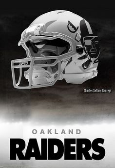 Oakland Raiders Charles Sollars Concept Logo Oakland Raiders Fans 42ea17f4d