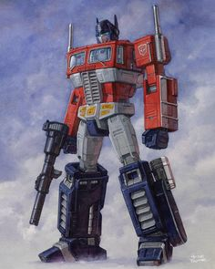 Optimus Prime full body by Trunnec on DeviantArt Transformers Bumblebee, Transformers Optimus Prime, Comic Book Characters, Female Art, Cool Pictures, Art Prints, Full Body, Artwork, A3 Size