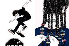 Killer Illustrations from Amanda Lanzone | Wink Brand Design