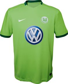 The new Wolfsburg 16-17 home, away and third kits introduce clean and inspired…