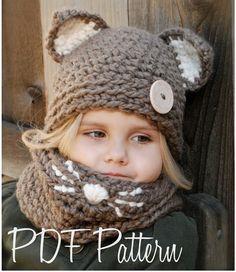 Crochet PATTERNThe Camille Cat Set Toddler Child by Thevelvetacorn, $10.00