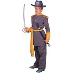 Child's Robert E. Lee Costume