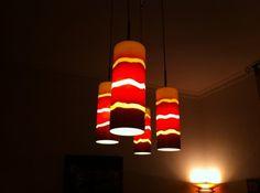vendo lampadario : Vendo Lampadario da soffitto 4 luci con lampade a risparmio energetico ...