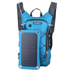 shad_dazz Solar Charger And Hydration Backpack(Link in my Bio) This backback intertwines the traits of a higher quality bag with a new, strong, thin-film solar module. The integrated solar charging module provides a powerful of power and carries a New Energy, Solar Energy, Solar Power, Hiking Backpack, Travel Backpack, Nylons, Women's Motorcycle Boots, Thin Film, Best Solar Panels