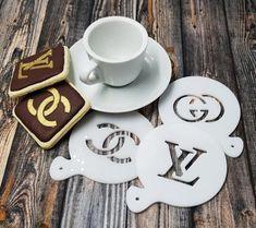 Tea Cup stencil Card making Airbrush Craft Stencil Coffee Stencil