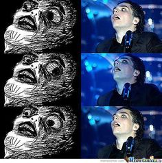 gerard way funny face | Oh My God Gerard Way Is A Meme! .o.
