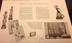 Schaufensterdekoration in den 50er Jahren http://www.modespitze.de/blog/miederwaren-saechsische-industriegeschichte/