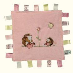SLUMBERTAG Baby Comforter Security Blanket Hedgehog - Velour: Amazon.co.uk: Baby