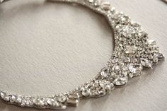 Bridal jewelry - necklace Hearts