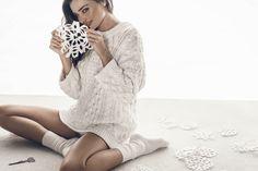 Miranda Kerr Swarovski Holiday 2015 Ad Campaign01