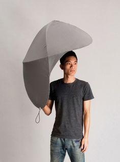 An Ingenious Redesign Of The Common Umbrella
