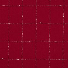 Teaming with texture, here is a <strong>Tango Red Window Pane Checked Wool Crepe<strong> featuring the insertion of contrasting black and white yarns. With a rougher hand, lining this material will be optimal. Wiry in structure, this wool is slightly translucent in nature. Easily draped, alter this wool crepe into Christmas capes and Red Riding Hood inspired cloaks paired with a lining.