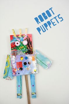 Robot Puppets...These are so much fun!