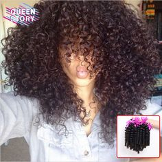Peruvian Kinky Curly Virgin Hair Afro Kinky Curly 3 Bundles 8A Peruvian Virgin Hair Afro Kinky Curly Hair Curly Weave Human Hair