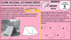 CURSO MATEMÁTICA ENEM 2016 QUESTÃO 152 PROVA ROSA RESOLVIDA EXAME NACION...https://youtu.be/qeHqWjwpf40