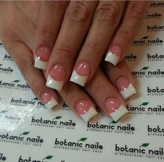 Classic with spark-botanic nails
