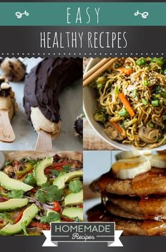 Homemade Recipes Easy Healthy Recipes To Make Your Diet Effortless No Carb Recipes, Easy Soup Recipes, Easy Dinner Recipes, Healthy Dinner Recipes, Diet Recipes, Healthy Snacks, Cooking Recipes, Diet Tips, Vegan Recipes