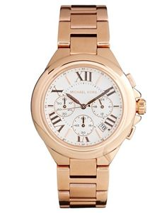 Michael Kors Camille Rose Gold Watch