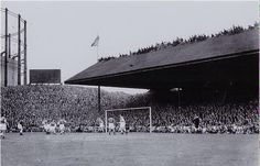 """Pittodrie has been the home of football in Aberdeen for nearly 120 years - and the site of numerous """"firsts"""" for the British game over the decades. Aberdeen Football, British Football, Paisley Scotland, Aberdeen Scotland, Granite City, City By The Sea, Sports Stadium, Celtic Fc, Soccer"""