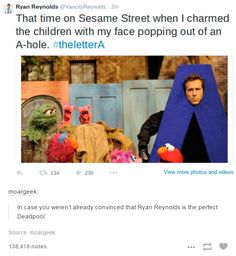 Funny pictures about Ryan Reynolds Still Remembers That One Time. Oh, and cool pics about Ryan Reynolds Still Remembers That One Time. Also, Ryan Reynolds Still Remembers That One Time photos. Dc Memes, Marvel Memes, Funny Memes, Marvel Funny, Ironic Memes, Marvel Actors, Ft Tumblr, Tumblr Funny, Marvel Universe