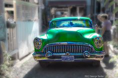54 Buick roadmaster custom found in Toronto