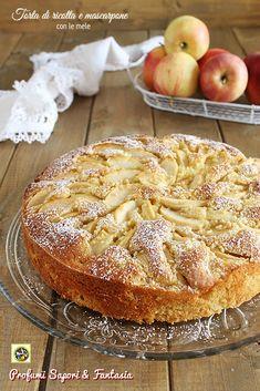 Tea Recipes, Apple Recipes, Sweet Recipes, Cake Recipes, Dessert Recipes, Cooking Recipes, Mascarpone Cake, Ricotta Cake, Gluten Free Desserts