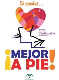 Si puedes... mejor a pie. Plan integral de atención a las cardiopatías de Andalucía