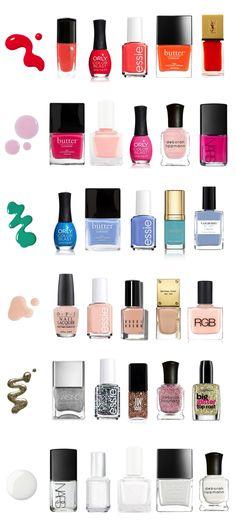 Summer-Nail-Polish-Colors---Trends---Swatches-Nails---glitterinc.com