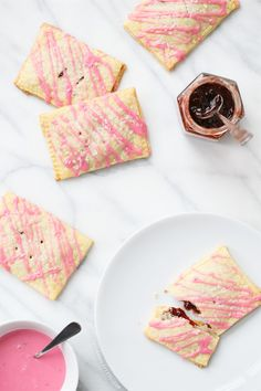 Homemade Strawberry Jam Toaster Pastries from @Lindsay Dillon Landis | Love and Olive Oil