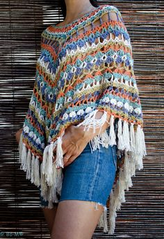 Bo-M - Inspiration for crochet apparel and accessories.  This artist is talented.