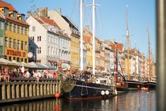 Nyhavn by summer