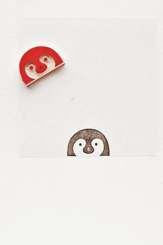 #rubber #stamps #rubberstamps #handcarved #penguin #animal #woodland #WoodlandTale #peekaboo #kids #funny #cute #kidsgift #rubberstamping #eraserstamp #eraserstamps