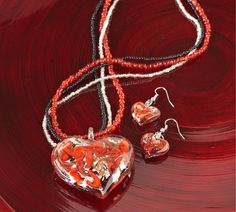Create a whimsical fashion statement with Pier 1 Heart Jewelry fashion statement