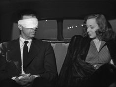 """Dick Powell and Ann Shirley in Murder My Sweet. """"She had a face like a Sunday School picnic"""""""