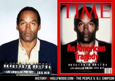 O.J. Simpson Mugshot vs. TIME Magazine Cover