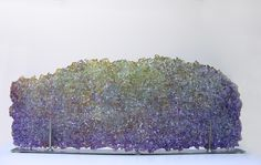 Glass, Mira-Woodworth, Artist, River Series, recycled glass