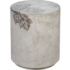 McGuire Medium Round Concrete Stool (£960) ❤ liked on Polyvore featuring home, furniture, stools, outdoor furniture, outdoor dining sets, outside dining sets, colored stools and outside table and chairs