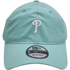 Philadelphia Phillies Teal Logo Dad Hat