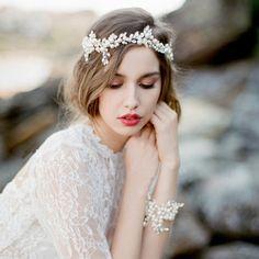 2016 crystal pearl headbands wedding accessories bridal party hair jewelry rhinestone headpieces CX154