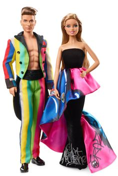 The Fashion Doll Chronicles: Mattel releases new Moschino Barbie & Ken dolls