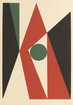 repulsion66:  Antonio Llorens, Untitled 6, 1960, Serigraph on paper,