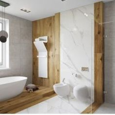 Most popular small bathroom decoration tips 6 – fugar Marble Tile Bathroom, Rustic Bathroom Vanities, Wood Bathroom, Bathroom Shelves, Bathroom Design Luxury, Modern Bathroom Design, Bathroom Trends, Storage Solutions, Storage Ideas