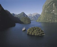 Doubtful Sound, a fjord in Fiordland, far south west of South Island, New Zealand. Near Milford Sound. World Most Beautiful Place, Beautiful Places, Outside Magazine, New Zealand Houses, New Zealand South Island, Milford Sound, New Zealand Travel, Hotels, Places To See