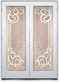Concorde 3D Etched Glass Doors Tuscan Decor provide privacy thru works of art in glass! Custom designs to suit your decor. Slab, prehung or glass only.
