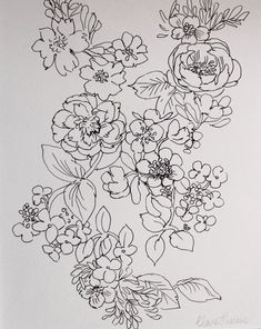 1000+ ideas about Floral Drawing on Pinterest | Botanical prints ...