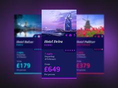 Behance :: TRAVEL // UI Layout & Design by STUDIOJQ