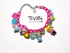 Howl's moving castle charm bracelet  READY TO SHIP by TiViBi