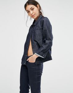 Levi's denim jacket for a casual cool day